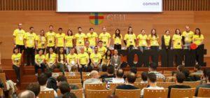 Imagen de organización y voluntarios de Commit Conf